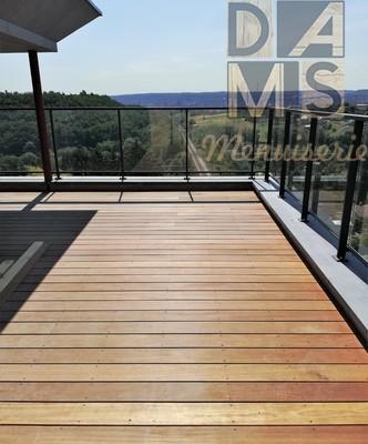 Dams menuiserie - Terrasses